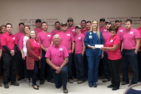HSHS St. Anthony's Women's Wellness Center Donation 2018